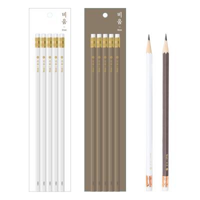 1000 비움 연필세트 B 5자루