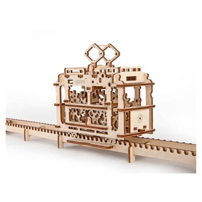 154피스 목재 입체퍼즐 - 유기어스 트램