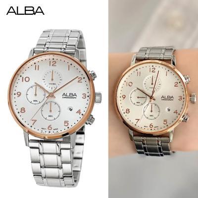 알바 크로노그래프 시계 AM3352X 남자시계 선물
