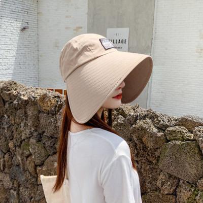 퍼비르 여성 빈티지 햇빛 자외선차단 썬캡 벙거지