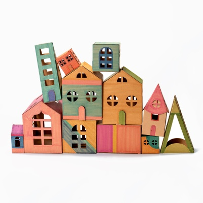 색칠하는 종이 집 만들기 세트 60종