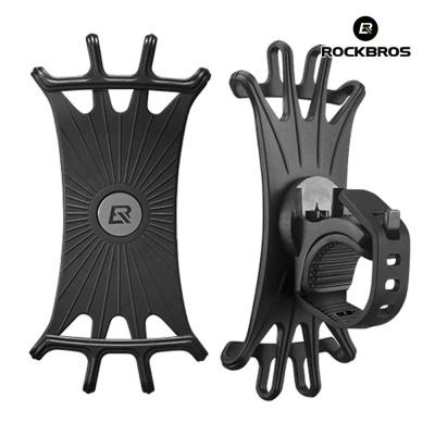 락브로스 자전거 스마트폰 거치대 실리콘 LF436BK