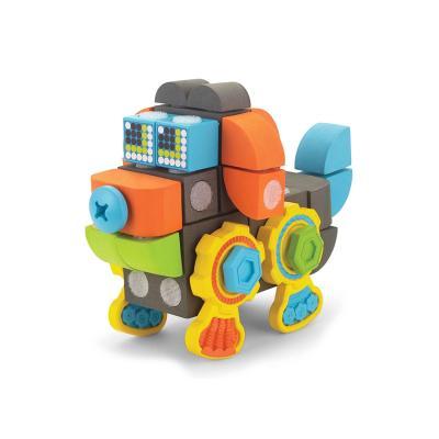 벨크로 블럭 강아지 로봇