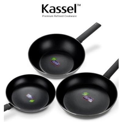 Kassel 루반 IH  프리미엄 후라이팬/궁중팬 3종세트