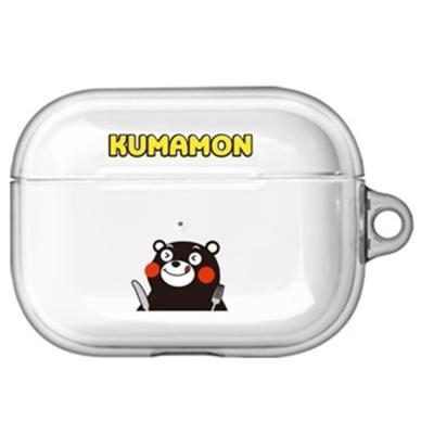 구마몬 러블리 투명 에어팟프로/Pro 케이스    옐로우