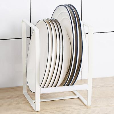 접시 그릇 수납 꽂이 거치대 정리대 받침대 (와이드)