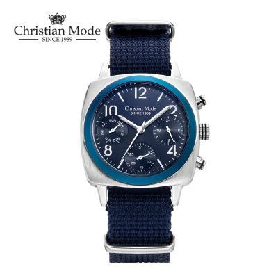 크리스챤모드(Christian Mode) 남성 나토시계 CM419BU