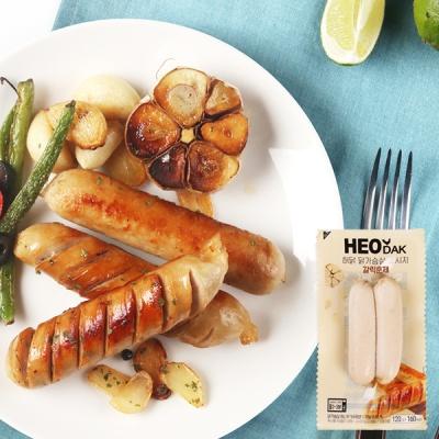 [허닭] 닭가슴살 소시지 갈릭훈제맛 120g 1+1