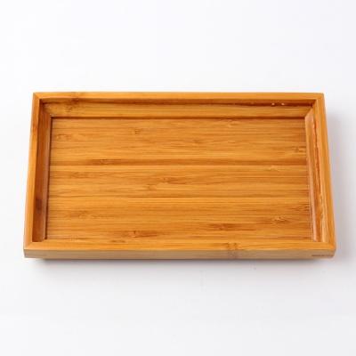 대나무 사각 쟁반(22x13cm)