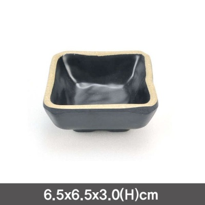 멜라민 앤틱블랙 정초장 소스그릇