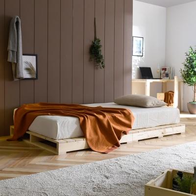 접이식 파렛트 원목 침대 1500X2000 저상형 깔판