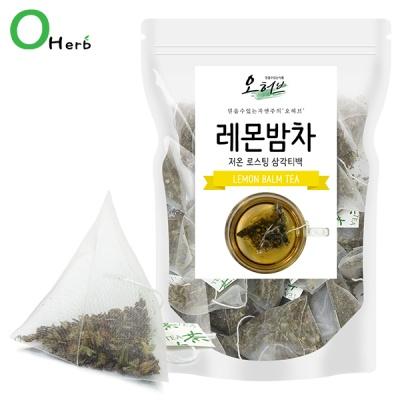 레몬밤차 레몬밤티백 25개입 삼각티백차 식수대용