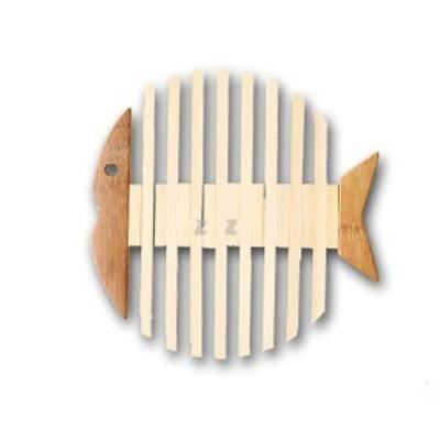 물고기 모양 냄비 받침 냄비깔개 매트 트레이