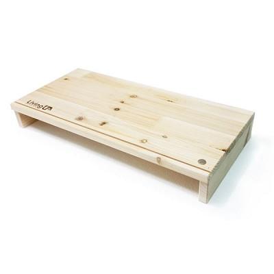 원목 자석모니터선반/라인형 WMS02 모니터받침대