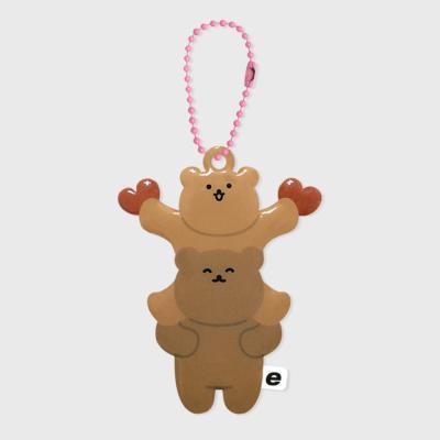 Double dot bear(PVC키링)