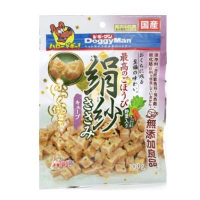 도기맨 키누사야 야채 큐브100g 강아지간식