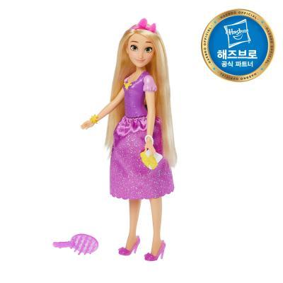 디즈니프린세스 서프라이즈 드레스 라푼젤 인형