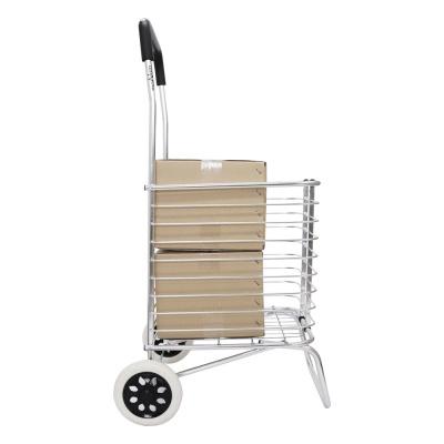 가볍고 편한 알루미늄 바구니 쇼핑카트 MOA-50BST