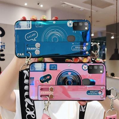 카메라 스트랩 젤리 케이스 갤럭시 s20/울트라/플러스