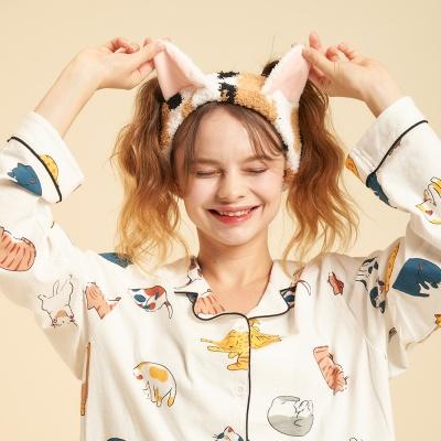 [오끼뜨] 고양이 집사님 냥 세안밴드 2color