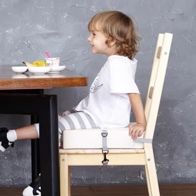하쥬르 키높이 유아 어린이 의자 방석 (2중안전장치)