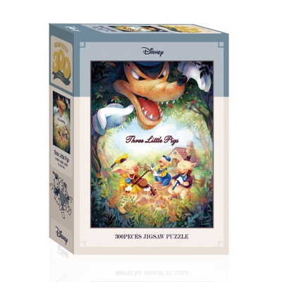 디즈니 아기돼지 삼형제 음악단 퍼즐 300피스 A03-001