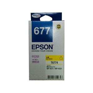 엡손(EPSON) 잉크 C13T677470 (슈퍼대용량플러스) / NO.677 / Yellow / WP-4521,WP-4511