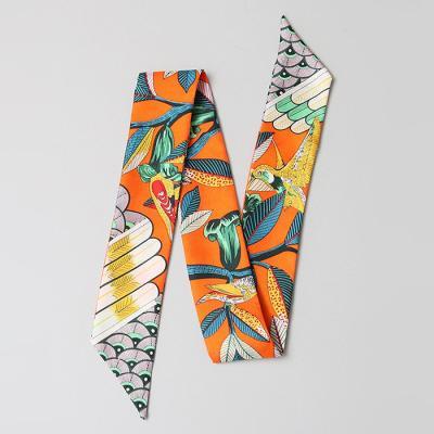 Silk Retro Petit Tie Scarf
