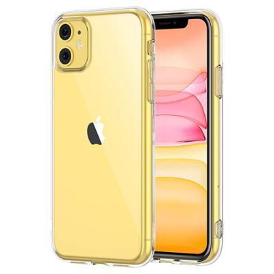 뮤즈캔 아이폰11 투명 강화유리 케이스