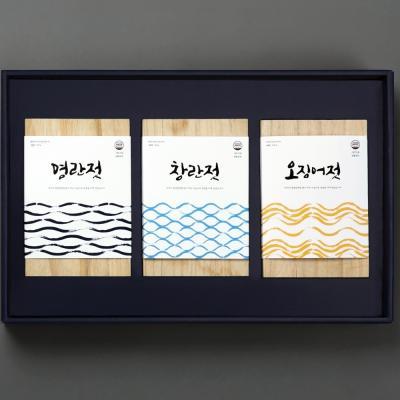 해성젓갈 2-1호 선물 (명란500g+창난500g+오징어500g)