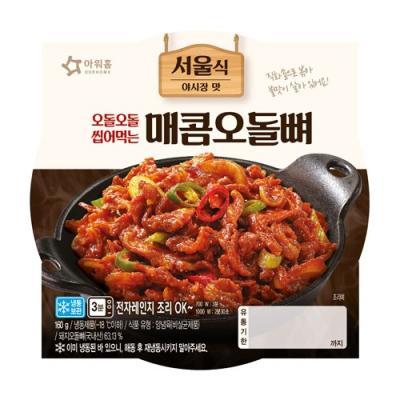 [아워홈] 매콤오돌뼈 (160g)