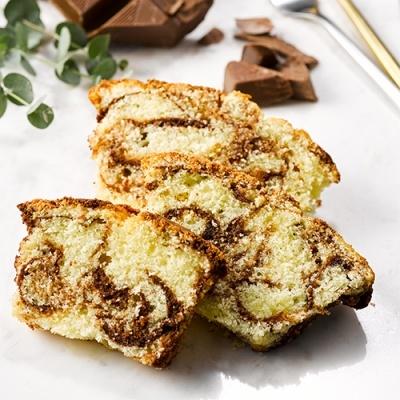 피나포레 마블 파운드 케이크 만들기