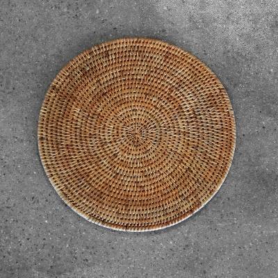 라탄 식탁 테이블매트 원형