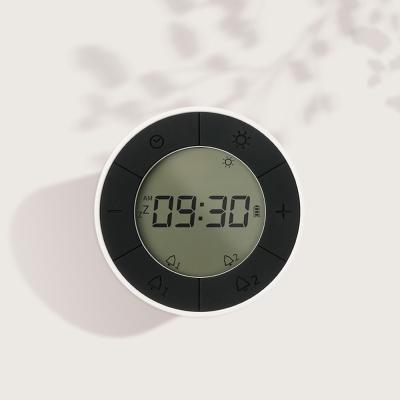 [무아스] 턴앤쉐이크 듀얼 무드등 휴대용 알람시계