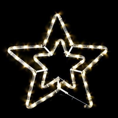 논네온 별(40cm) (웜색) (무점멸)