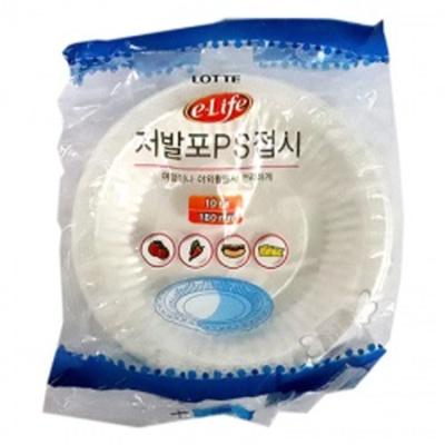 롯데 이라이프 저발포접시(18cm)