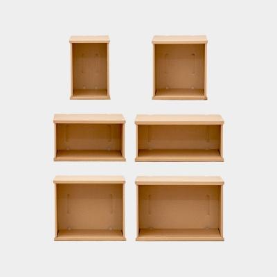 1단 종이책장 ㅁㅁㅂㅂ 공간박스