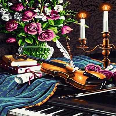 [DIY명화]B59 피아노위바이올린 size 50*40cm