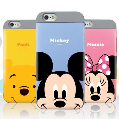 [Disney]디즈니 파스텔 카드 이중 범퍼케이스 -아이폰7/7플러스/6S/6플러스