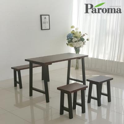 파로마 루갈 4인용 원목 식탁 (의자 미포함) ET31