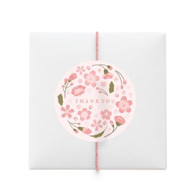 벚꽃 땡큐 라벨 (10개)