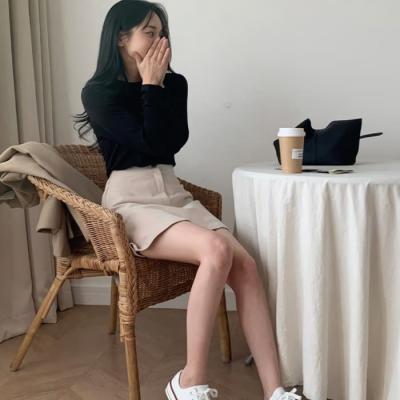 여성 미니 스커트 치마 팬츠 베커리 코듀로이 밴딩