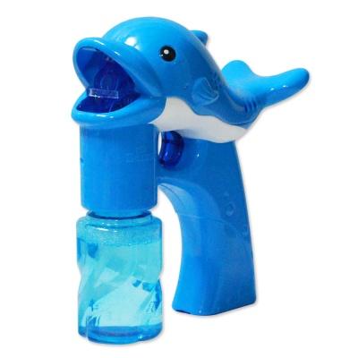 샤이니 돌고래 자동버블건 블루 / 비눗방울 버블건