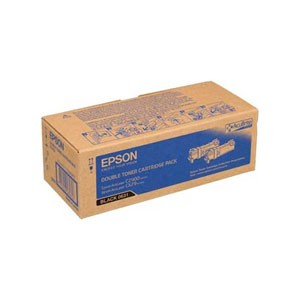 엡손(EPSON) 토너 C13S050631 (2Pack) / Black / AcuLaser C2900N , AcuLaser CX29NF Double Toner Cartridge / ( 3K * 2 )