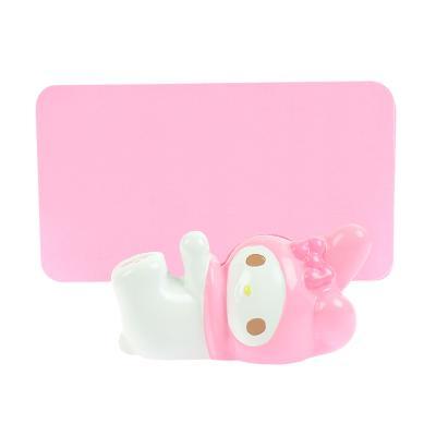 (일본직수입) 마이멜로디 핑크 리본 명함꽂이