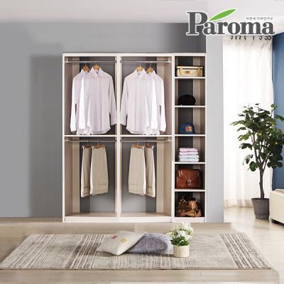 파로마 라라 드레스룸 일자형 3칸F형 (1600x400)