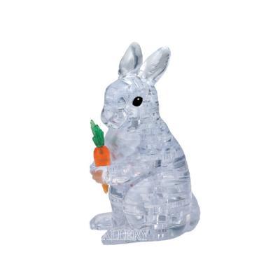 3D입체퍼즐 토끼 - 투명 CP902591