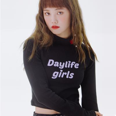 데이라이프 하프 넥 티셔츠 (블랙)