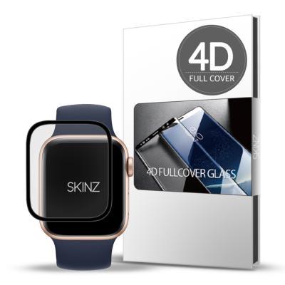 스킨즈 애플워치6 4D 풀커버 강화유리 필름 44mm 1매