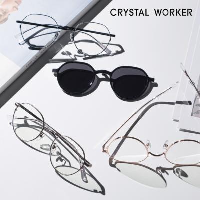 [크리스탈 워커] 풀 티타늄 T-AIR 3종 안경